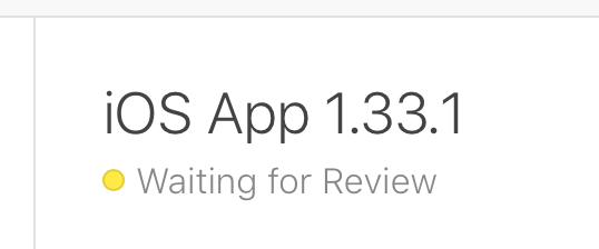 V1.33.1 Waiting for review