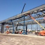 Orion Jet Center Steel Erection